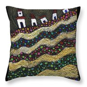 Many Paths Lead To The Top Throw Pillow