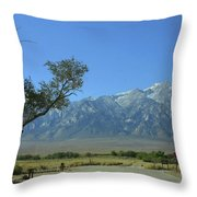 Manzanar 1 Throw Pillow