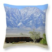 Manzanar A Blight On America 1 Throw Pillow