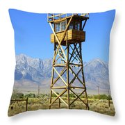 Manzanar A Blight On America 2 Throw Pillow