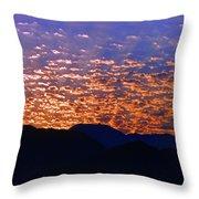 Manzanillo Sunset 3 Throw Pillow