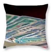 Mao Is In Every Chinese Pocket Throw Pillow