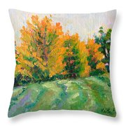 Maple Grove Throw Pillow