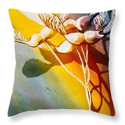 Maple Helicopters Throw Pillow