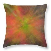 Maple Leaf Nebula Throw Pillow