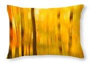 Maple Magic Throw Pillow