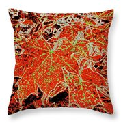 Maple Mania 11 Throw Pillow