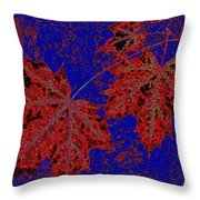 Maple Mania 15 Throw Pillow