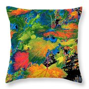 Maple Mania 3 Throw Pillow