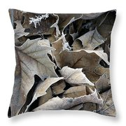 Maple Salad Throw Pillow