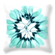 Maple Seeds X-ray Throw Pillow