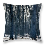 Maple Sirup Infrared N01 Throw Pillow