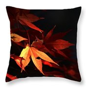 Maple Tree Leaves I Throw Pillow