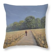 Mapledurham Throw Pillow