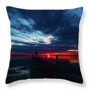 Maplehurst Dock Throw Pillow