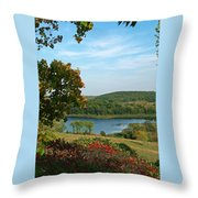 Maplewood State Park Throw Pillow