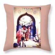 Mapusa, Goa Throw Pillow