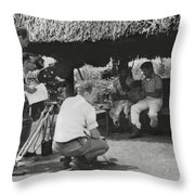 Maquina Documentary Throw Pillow