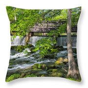 Maramec Spring Park St. James Mo Dsc02354 Throw Pillow