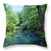 Maramec Springs 2 Throw Pillow