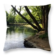Maramec Springs 5 Throw Pillow