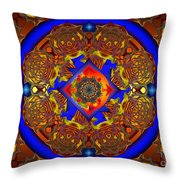 Maraschino Delight Throw Pillow