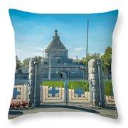 Marasesti - First World War Monument Throw Pillow
