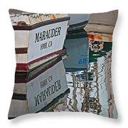 Marauder Reflection Throw Pillow