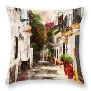 Marbella, Andalusia - 01 Throw Pillow