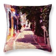 Marbella, Andalusia - 04 Throw Pillow