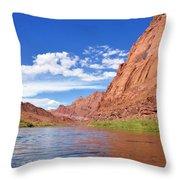 Marble Canyon Walls Throw Pillow