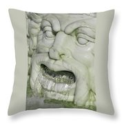 Marble Head Throw Pillow