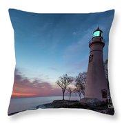 Marblehead Dawn Throw Pillow