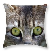 Marbles... Throw Pillow