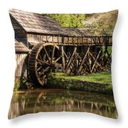 Marby Water Mill  Throw Pillow