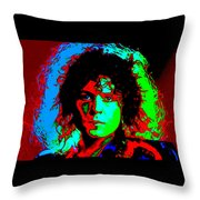 Marc Bolan Throw Pillow