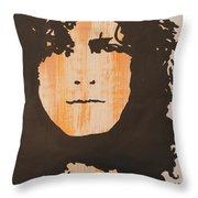 Marc Bolan T.rex Throw Pillow