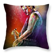 Marc Pearson Throw Pillow