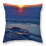 March 16-2017 Sunrise Two  Throw Pillow