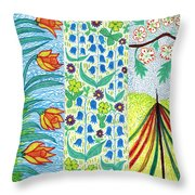 March April May Throw Pillow