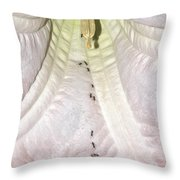 Marching Ants Throw Pillow