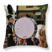 Marching Band Percussion  Throw Pillow