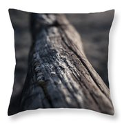 March's Frost Throw Pillow