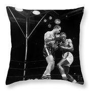 Marciano & Charles, 1954 Throw Pillow