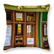Marefred Station Interior Throw Pillow