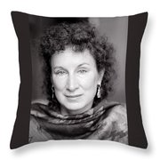 Margaret Atwood Throw Pillow