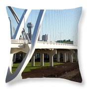 Margaret Mcdermott Bridge 122117 Throw Pillow