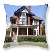 Margaret Mitchell House In Atlanta Georgia Throw Pillow