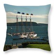 Margaret Todd - Bar Harbor Icon Throw Pillow
