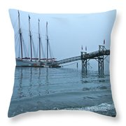 Margaret Todd In A Fog Throw Pillow